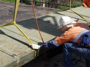Bridgeply timber for bridges