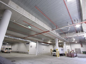 carpark ceiling steel